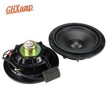 GHXAMP 5,25 дюймовый Полнодиапазонный динамик 4 Ом 20 Вт Неодимовый 145 мм Автомобильный громкий динамик ABS пластиковый резиновый край 2 шт.