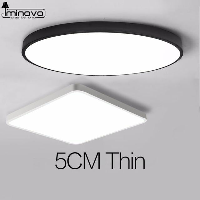 LED נברשת מודרני עגול בית שלט רחוק יוקרה לסלון חדר שינה מחקר 220 v צמודי תאורה קבועה