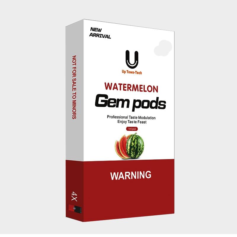 4 pièces Vape Gousses 1.0ml Capacité Pod 1.4ohm Bobine Résistance Dosette Rechargeable pour Juul e-cigarettes Kit De Démarrage