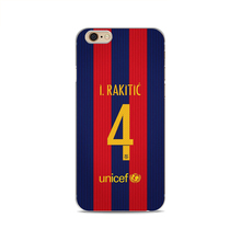 Football Soccer Barcelona Messi Neymar Suarez Rakitic Soft Silicone Phone Case For Apple iphone X 7 8plus 5S SE 6 6S For Samsung