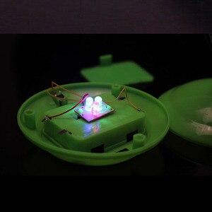 Image 5 - 1 pçs bela cor romântica mudando led de fibra óptica nightlight lâmpada pequena noite luz chrismas festa decoração para casa