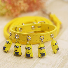 Pet supplies dog Bell collar cat Teddy small big bell traction rope