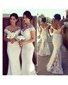 2016 New Arrival Elegant Simple Appliques Lace Mermaid Wedding Dresses Glamorous Sweetheart Brial Dresses Vestidos De Noiva