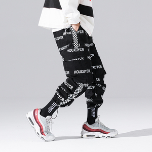 Image 5 - New Arrival Harajuku Japanese Style Letter Printed Fashionable Mens Jogger Trousers Hip Hop Autumn Casual Male Harem Pants