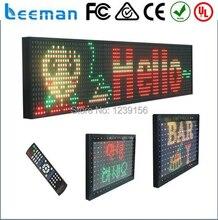 Leeman программируемый светодиодный знак 2018 2017