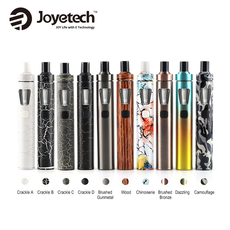 100% Original Joyetech EGo AIO Quick Kit with 2ml Capacity Atomizer Tank All-in-One 1500mAh Battery Kit E Cig Vaporizer Vape Pen