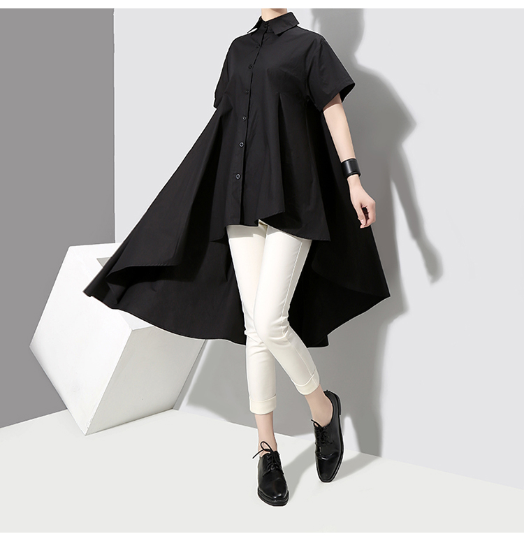 New Fashion Style Black Feminine Blouse Shirt Fashion Nova Clothing