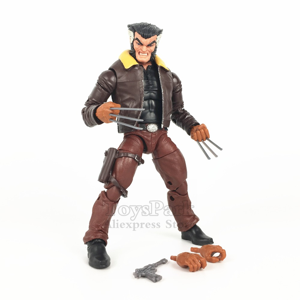 Marvel Legends 6 Wolverine Action Figure From 2018 Walgreens Sentinel 2 Pack Exclusive Days of Future