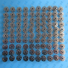 JUKI LU-1508 SINGLE NEEDLE BOBBINS STEEL 100 EACH PART#B9117-563-000