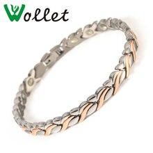 Wollet ювелирные изделия 999999% чистый Германий титана браслеты