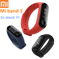 100%Original Xiaomi Mi Band 3 Smart Bracelet Heart Rate Monitor Calories measuring Sport Smartwatch Wristband for Android IOS