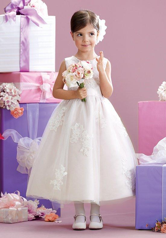 Vestido Comunion Ivory Appliques 2016 New First Communion   Dresses   for   Girls   Ankle-length Tank   Flower     Girl     Dresses   for Weddings