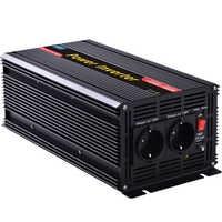 Power inverter 3000w/6000 watt DC 12V AC 230V inverter off grid inverter with led display free ship