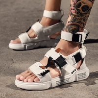 2019 new air mesh Men Shoes sandals Tracking Summer Walking Sandals Mens Outdoor Beach Shoes fashion casual Male Sandals k3