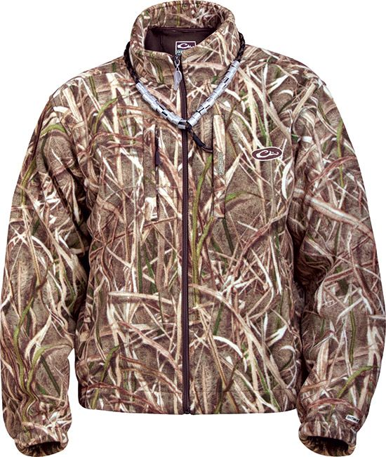 MST Windproof Fleece Layering Coat CAMO DRAKE waterfowl systems