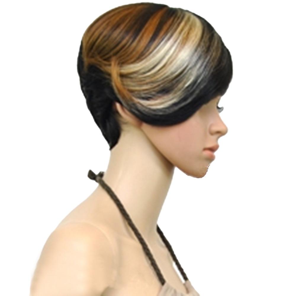 HAIRJOY 1B / 30/613 Μικτή Χρώμα Σύντομη - Συνθετικά μαλλιά - Φωτογραφία 2