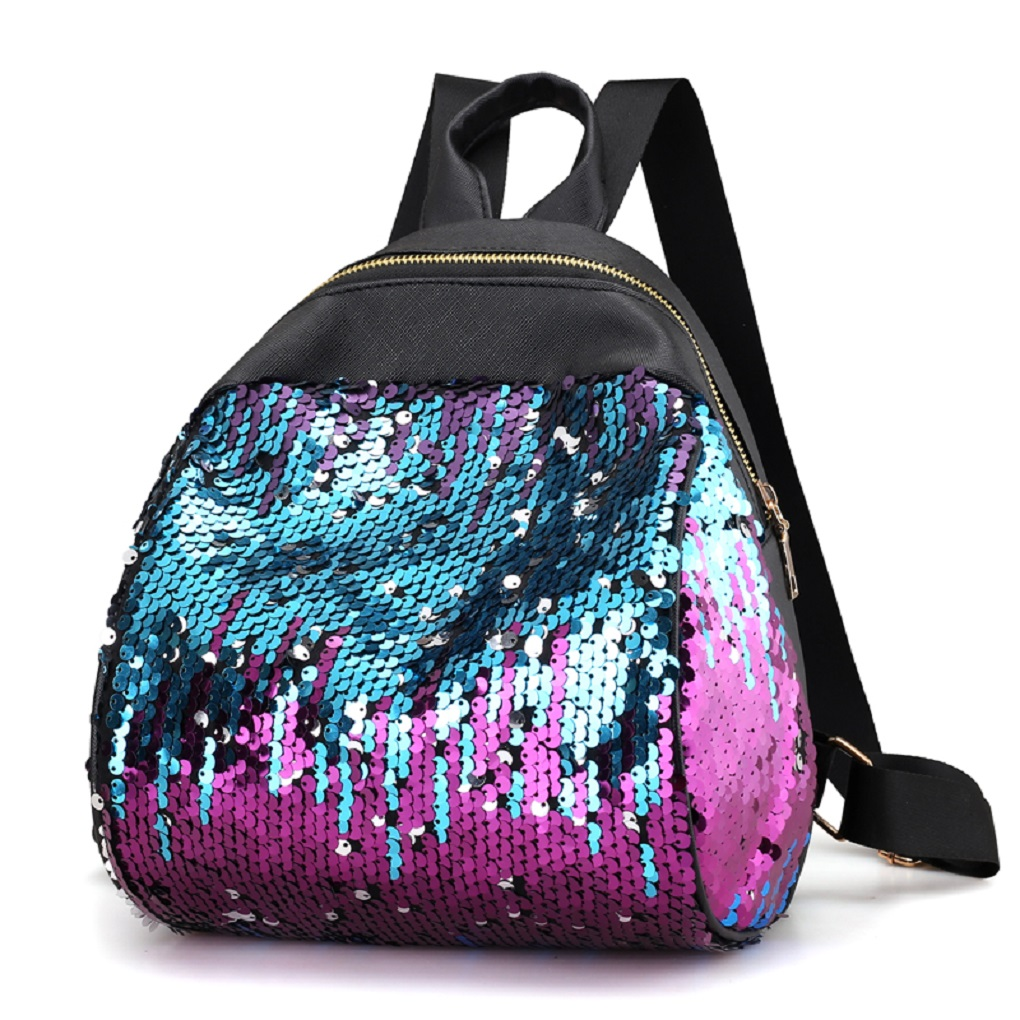 Fashion Mini Women Backpack School Bags For Teenage Girls Pu Small Backpacks Female Travel Rucksack Sequins School Backpacks crocodile small backpack girls fashion pu leather backpacks summer school bags teenagers women back bags rucksack mochila mini