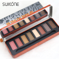 8 Color Warm Pearl Eye Shadow Metallic Shimmer Pigment Eyeshadow Palette Naked Professional Nude Makeup All That Eye Styler Kit