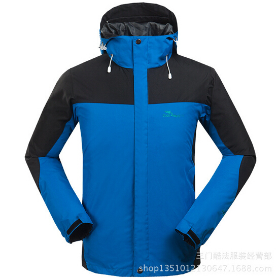 ФОТО Brand Outdoor Softshell Jacket Men Hiking Jacket Waterproof Windproof Thermal Jacket For Hiking Camping Ski Spring Autumn Jacket