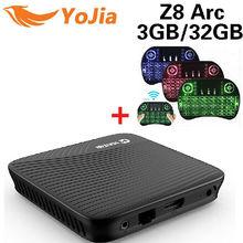 Yojia Amlogic S912 Android 7.1 TV BOX  Z8 Arc DDR4 Octa Core 2/3GB 16/32GB Dual WIFI Media Player PK M8S Pro H96 Pro TV Box