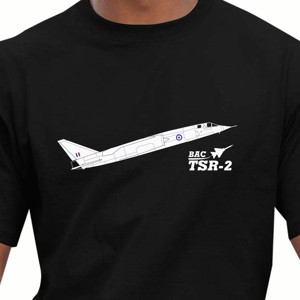 Aeroclassic BAC TSR-2 Aircraft T-Shirt