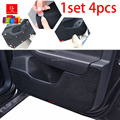 Car door Protector Pad covers car-styling sticker mats Fit For Citroen C5  All 1set/4pcs black car-styling
