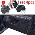 Puerta del coche Almohadilla Protectora cubre car-styling pegatina esteras Ajuste Para Citroen C5 1 Unidades/4 unids negro car-styling