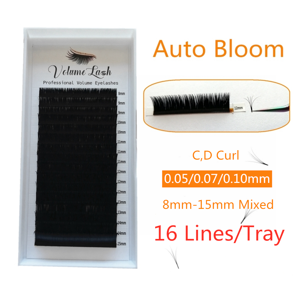 Automatic Flowering Lashes Easy Fan Lash Extension Bloom Eyelash  Self-making Fans Bloom Faux Mink Eyelash ExtensionAutomatic Flowering Lashes Easy Fan Lash Extension Bloom Eyelash  Self-making Fans Bloom Faux Mink Eyelash Extension