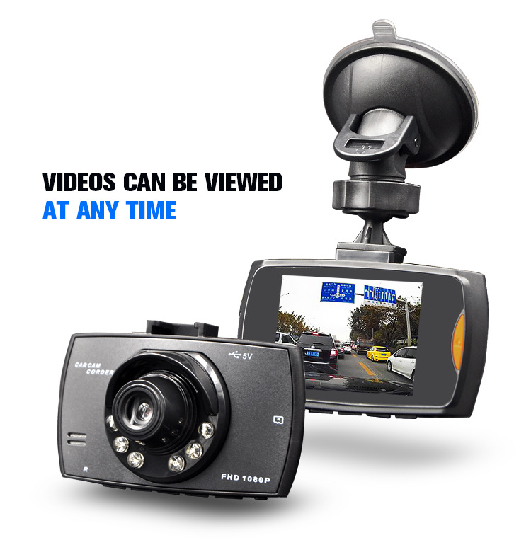 Car DVR Registrator Tachograph Car-Camera Date-Recorder Dashcam Night-Vision G30 Full-Hd