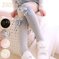 Casual Kids Girls Cotton Stockings Korean Style Children Rhombic Plaid Baby Girl High Knee Stocking 2016 Sale Free Size 1 Pair