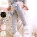 Casual Niños Niñas Medias de Algodón Niños Del Estilo de Corea Rómbica Plaid Baby Girl Alta Rodilla Stocking 2016 Venta Libre Del Tamaño 1 par