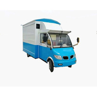 Solar energy food cart ice cream food truck mobile food trailer for sale with free shipping