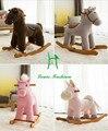 Exportação direta da fábrica crianças brinquedo do bebê cavalo de balanço cadeira de balanço de madeira brinquedo do cavalo de balanço