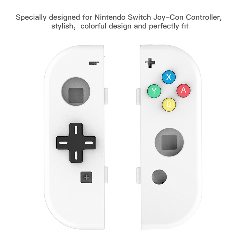 Image 3 - (D PAD Version) Replacement Housing Case for Nintend Switch NS Controller Joy Con shell game console switch case-in Replacement Parts & Accessories from Consumer Electronics