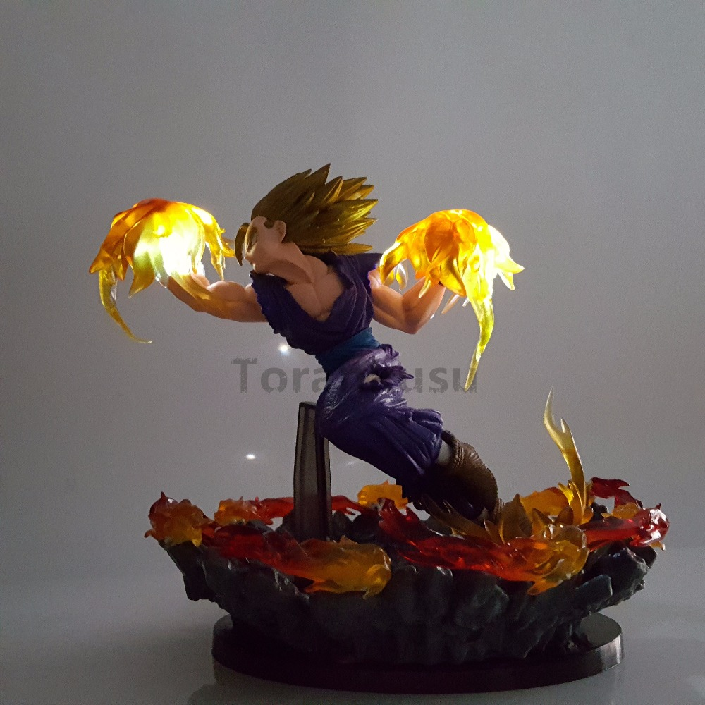 Led Lamps Brilliant Dragon Ball Z Action Figures Vegeta Super Saiyan Final Flash Led Light Bulb Anime Super Vegeta Figurine Dbz Cartoon Led Light Led Night Lights