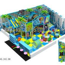 Стандарт ЕС Крытый игровой площадки системы высшего качества замок игровой для помещений Прямая Фабрика Плаза де Juegos HZ-5821c