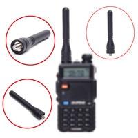 אנטנה baofeng Baofeng BF-888S טוקי אנטנה 400-470MHz VHF / UHF כפול תדירות גבוהה רווח 7.5cm Thumb קצר אנטנה עבור BF-888S / UV5R (1)