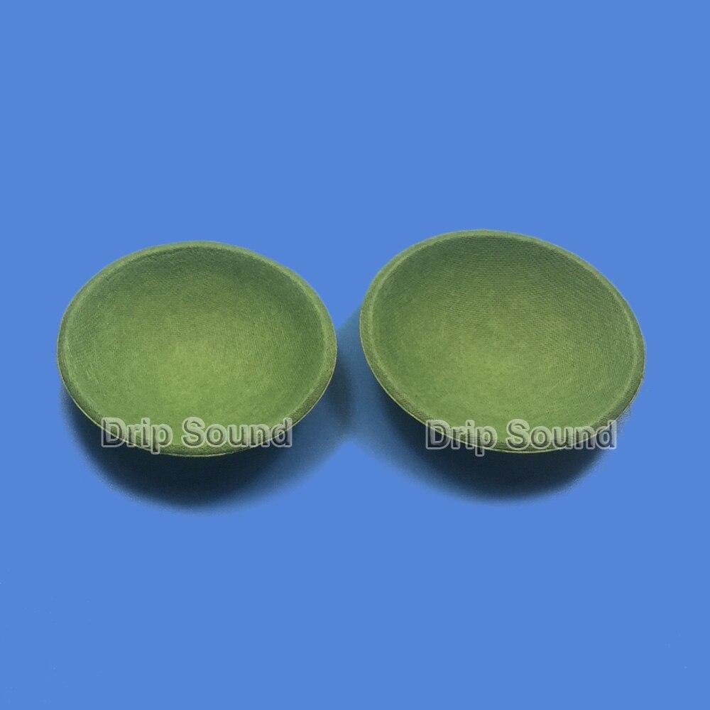 2pcs 39mm Speaker PP Glue Dome Dust Cap Woofer Cone Cover Bullet Repair Parts