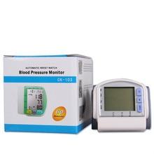 Cuidados de saúde dispositivo de medição de pressão arterial automático digital sphygmomanômetro hipertensão equipamentos médicos