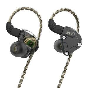 Image 4 - NICEHCK NX7 ハイブリッド 7 ドライバ IEM で耳イヤホン 4BA + デュアルカーボンナノチューブダイナミック + 圧電セラミックス Hifi モニターステージ 2Pin