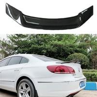 For Carbon fiber rear roof spoiler lip wings for Volkswagen VW Passat CC Sandard 2009 2018 R Style
