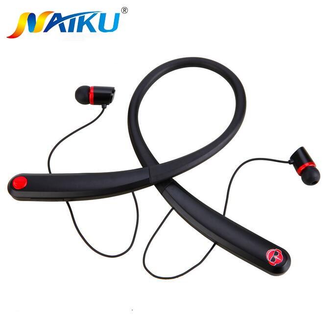 NAIKU 990 Bluetooth Casques Sans Fil Magnétique Casque Neckband Stéréo Écouteur avec Microphone pour iPhone7 Android