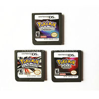 Nintendo NDS Game Pokemon Series Diamond Pearl Platinum Video Game Cartridge Console Card US Version