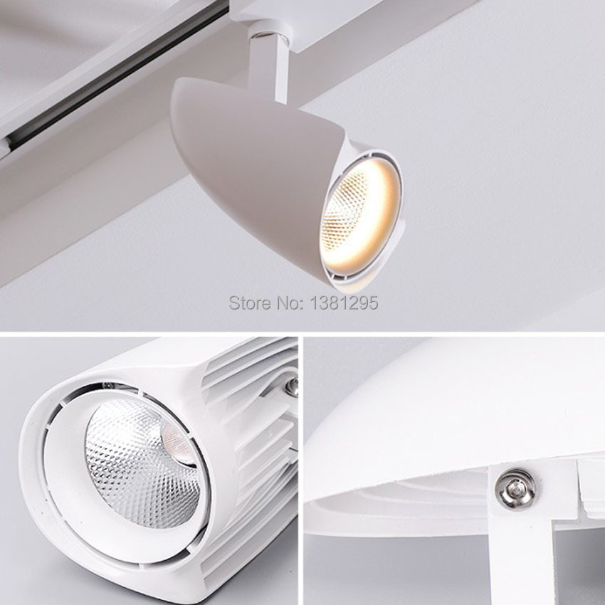 LED Schienenlicht 30 Watt 40 Watt CREE COB Decke schienenleuchten ...