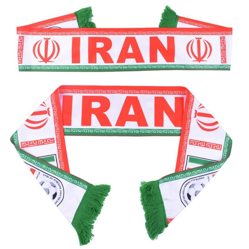 055c31867c14 Летние Футбол поклонники шарф Иран футбольный фанат карнавал шарф страна  команда шарф Иран Флаг Баннер аплодисменты