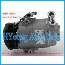 9165714 автоматический компрессор переменного тока для Holden Astra Barina/Combo XC Vectra JS OPEL для Delphi CVC