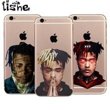 Xxxtentacion High quality Soft silicone TPU Case Cover For Apple iPhone 6 6s 7 8 Plus X 10 5 5S SE Transparent Phone case