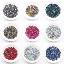 Shine Pink Rose Hot Fix Rhinestones Iron On Rhinestones For Clothes Red  SS6 SS10 SS16 SS20 SS30 Glass Crystal AB HotFix Stone стразы для одежды blingworld rhinestones 1440 4 ss16