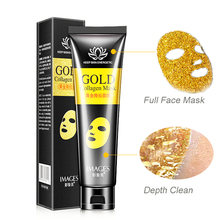 Facial Mask Peel Off Gold Collagen Tear off Masks Whitening Lifting Firming Face Skin Anti Wrinkle Aging  Blackhead Remove