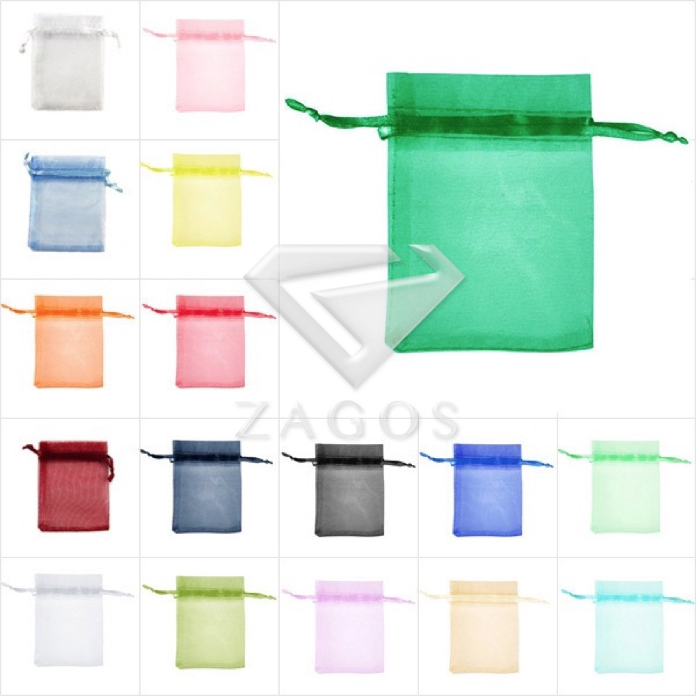25pcs 11x16cm Bag Organza Rectangle Pouch Bags Gift Wedding Jewellery Reception Party Sweets Favours Wholesale BB0013